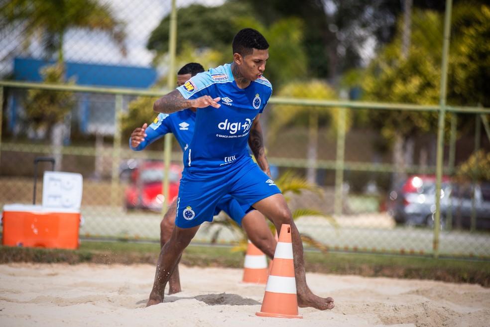 Raniel, do Cruzeiro, é um nome avaliado pelo São Paulo — Foto: Bruno Haddad/Cruzeiro