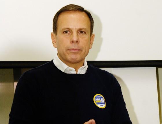 O Candidato a prefeitura de São Paulo João Doria Jr (Foto:  Ricardo Bastos / Fotoarena)
