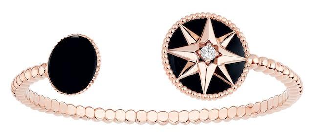 O bracelete da coleção Rose des Vents, da Dior (Foto: Divulgação)