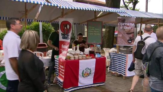 Parque das Ruínas, em Santa Tereza, é palco de uma festa com objetivo humanitário