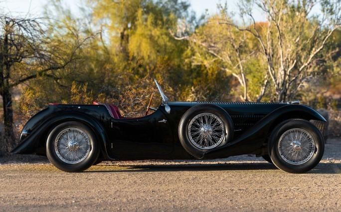 Bugatti Tourer 57SC de 1937 vai a leilão com lance inicial de mais de R$ 25 milhões
