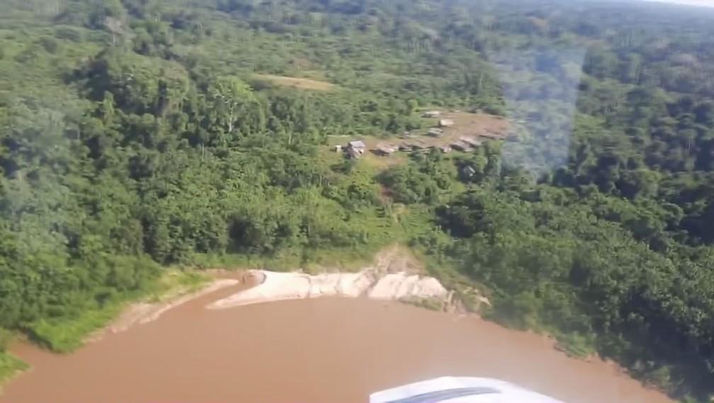 Povos indígenas vivem no Vale do Javari, no Amazonas. — Foto: Reprodução/Univaja