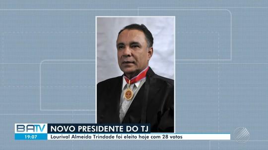 Com 28 votos, desembargador Lourival Trindade é eleito presidente do Tribunal de Justiça da Bahia