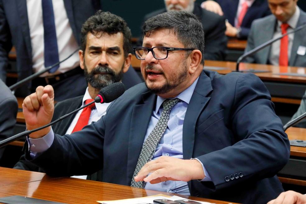 O deputado Fabio Ramalho (MDB-MG) em comissão da Câmara — Foto: Luis Macedo / Câmara dos Deputados