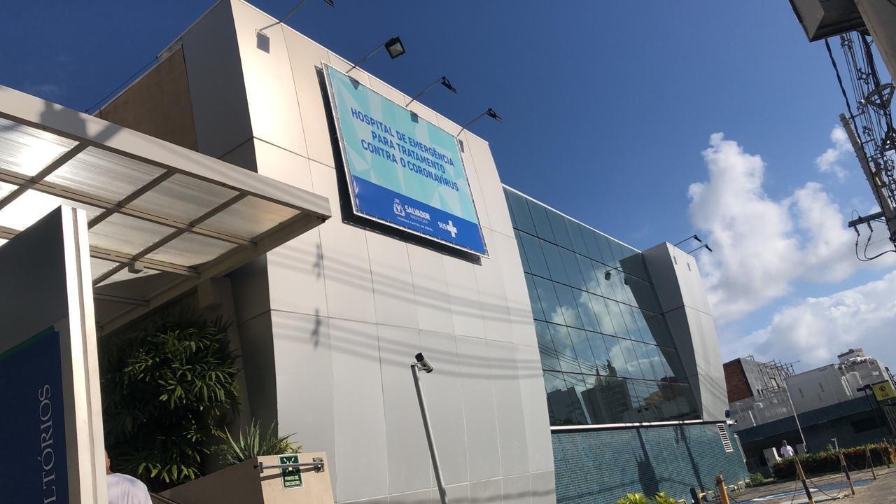 Hospitais de campanha em Salvador atendem mais de 150 pessoas com Covid-19