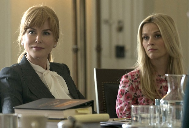 Nicole Kidman e Reese Witherspoon em cena de Big Little Lies (Foto: Reprodução)