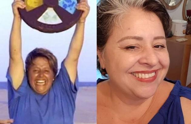 Campeã da temporada de estreia, Elaine ainda trabalha como cabeleireira na cidade de São Paulo, é casada e tem dois filhos (Foto: Reprodução)