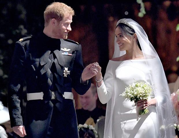 Vamos rever os vestidos de noiva mais marcantes do ano (Foto: Getty Images)