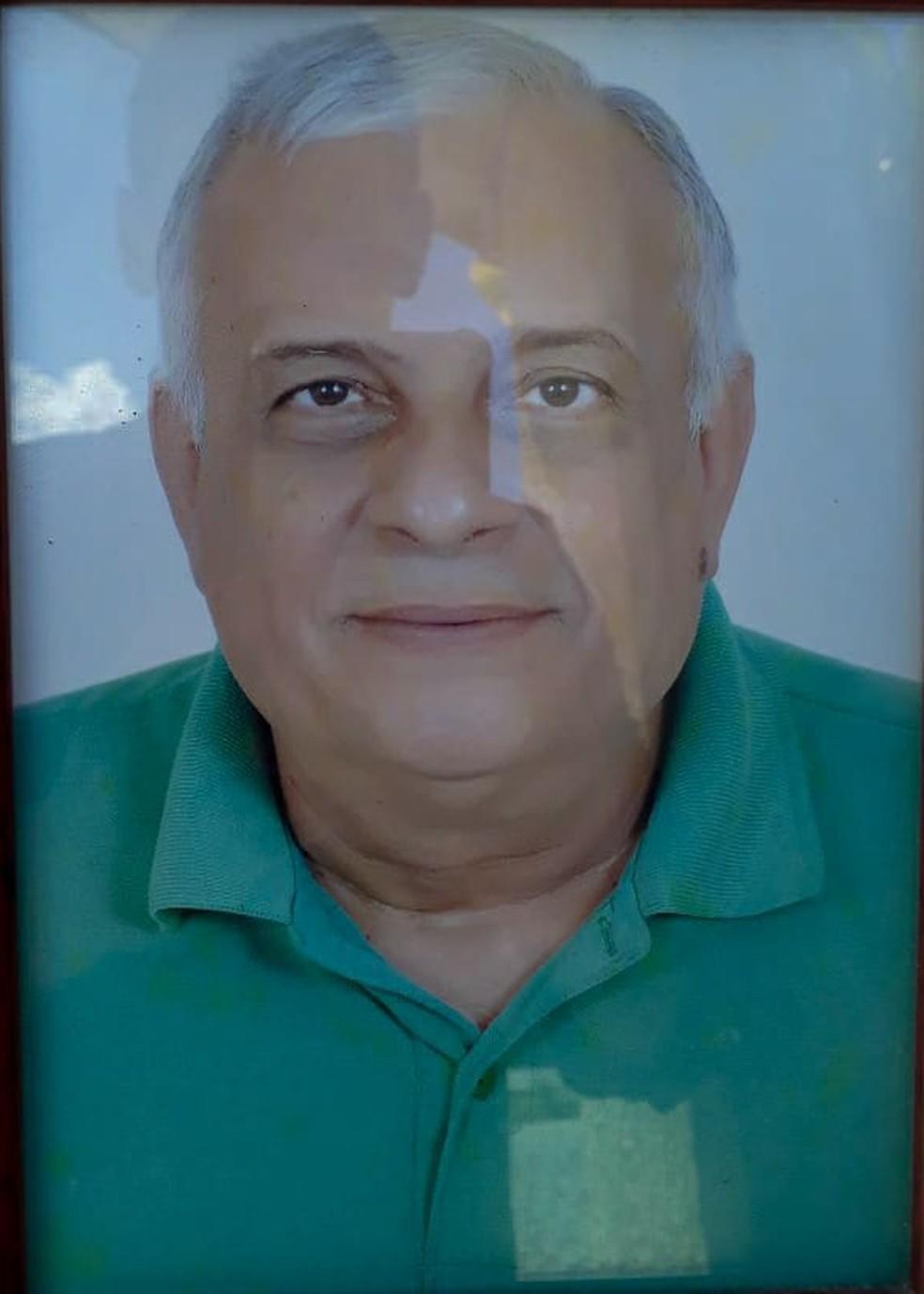 Rubens de Azevedo Maia tinha 67 anos e foi morto a tiros em Parnamirim (Foto: Reprodução/Arquivo da Família)