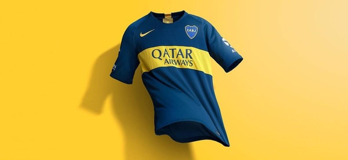 Boca Juniors divulga novos uniformes para a próxima temporada ... 1eaf0ae501912