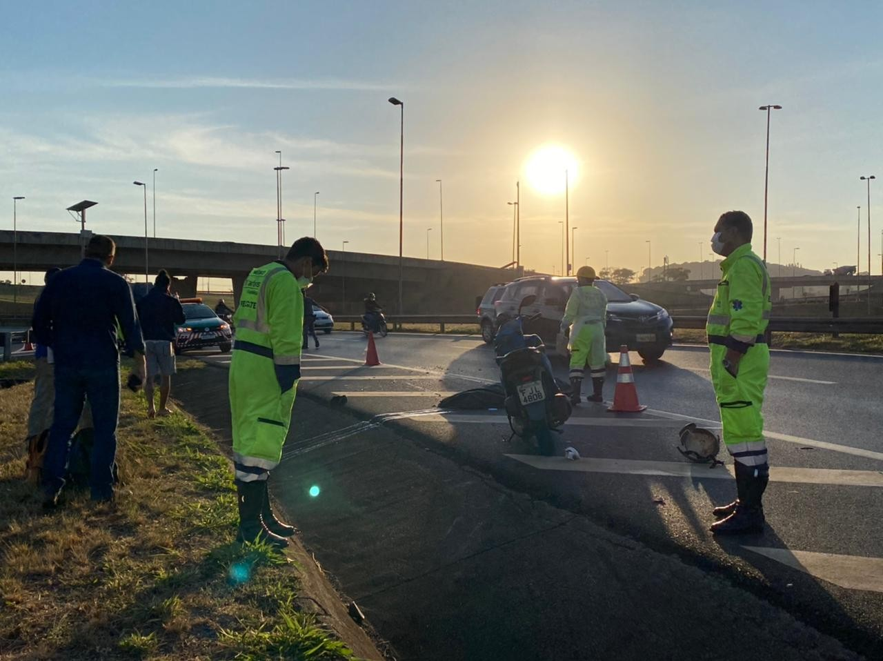 Motociclista morre após ser atingida no 'trevão' de Ribeirão Preto, SP
