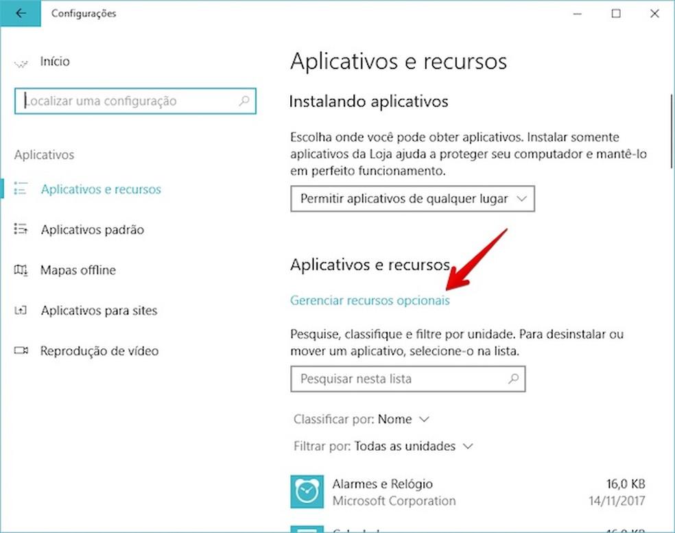 c40fc4cd2c2 Acesse as configurações de aplicativos. Passo 2. Agora, clique em