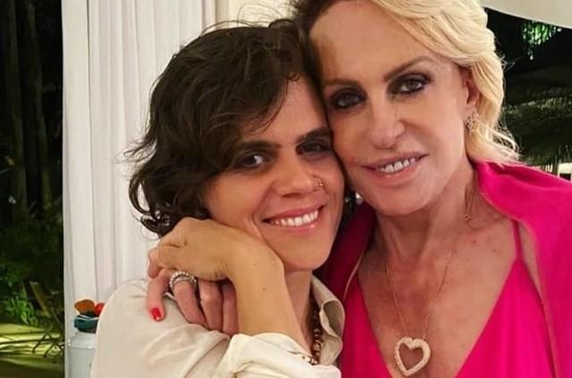 Mariana Maffei e a mãe, Ana Maria Braga (Foto: Reprodução/Instagram)