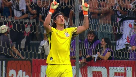 """Capitão do Corinthians na final, Cássio fala do desafio do título: """"Muita gente nos dá como zebra"""""""