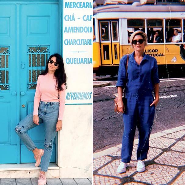 Lays Tavares e Juliana Santos (Foto: Thinkstock, divulgação e reprodução/Facebook e Instagram)