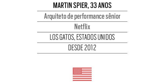 Martin Spier, 33 anos,  Arquiteto de performance sênior  Netflix (Foto: Arquivo pessoal)