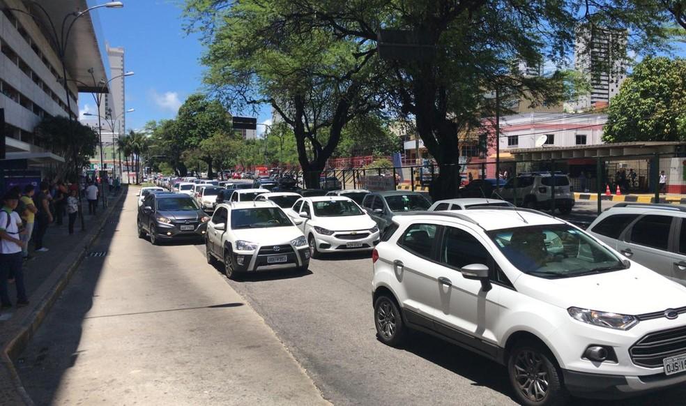 No RN, cerca de 256 mil veículos possuem placas com finais 7 ou 8  — Foto: Italo Di Lucena/Inter TV Cabugi