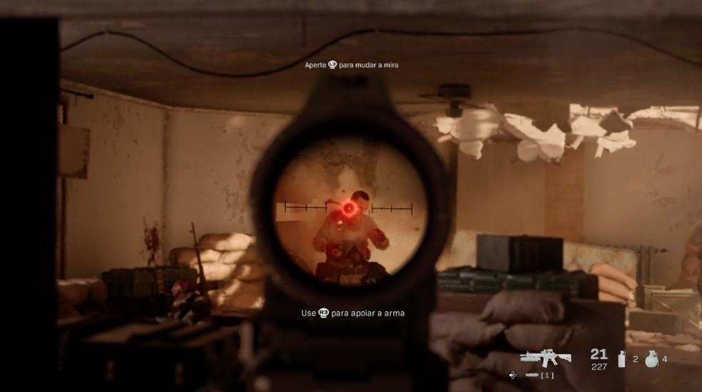 Jogabilidade agrada em Call of Duty Modern Warfare — Foto: Reprodução / TechTudo