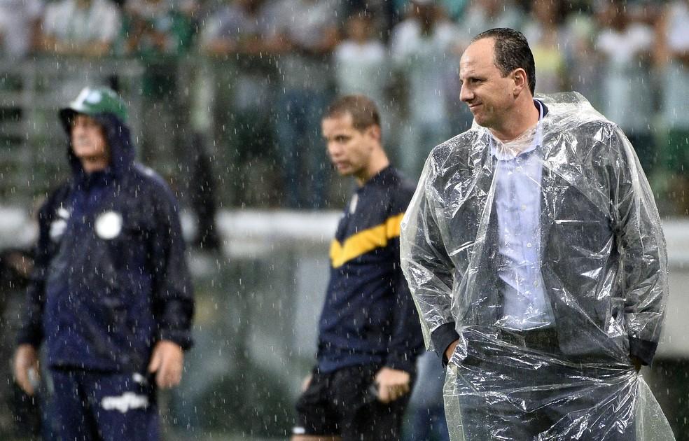 Palmeiras de Felipão e Fortaleza de Rogério Ceni já duelaram em 2019 — Foto: Marcos Ribolli