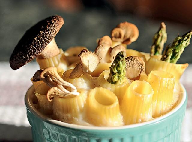 Rigatone com cogumelos (Foto: Bruna Romaro )