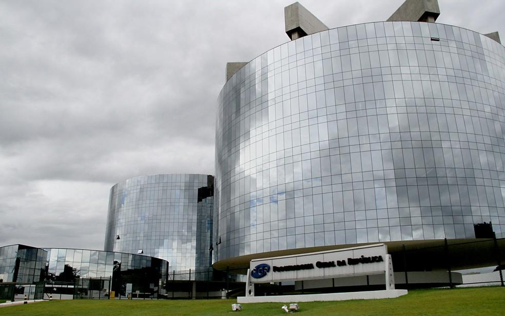 Prédio da Procuradoria Geral da República, em Brasília — Foto: Vianey Bentes/TV Globo