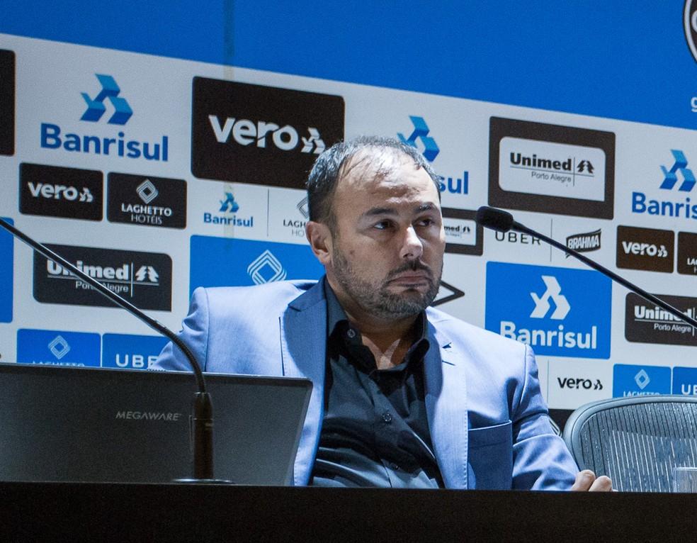 Carlos Amodeo, CEO do Grêmio — Foto: Lucas Uebel / Grêmio FBPA
