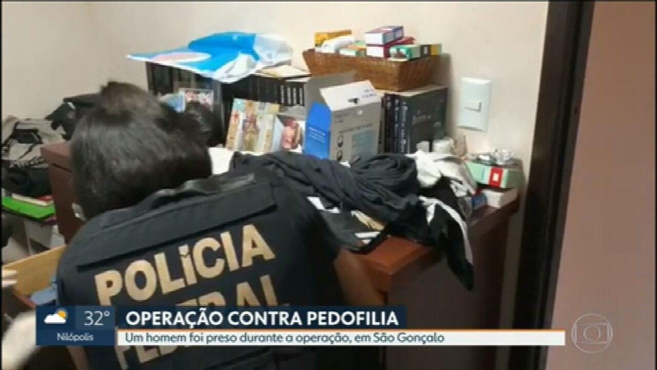 PF faz operação contra a abuso e exploração sexual de crianças e adolescentes em São Gonçalo e Niterói