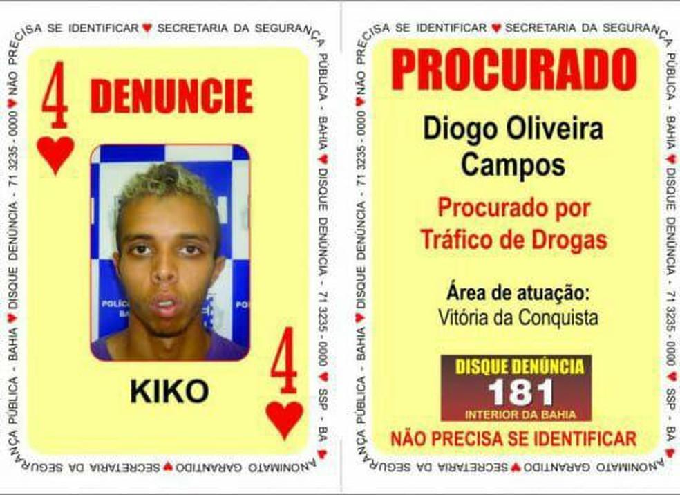 Preso acusado de mais de 100 homicídios na Bahia tinha fama de assassinar rivais queimando vítimas — Foto: Divulgação / SSP-BA
