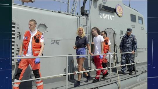 Britânica é resgatada depois de passar 10 horas boiando no Mar Adriático