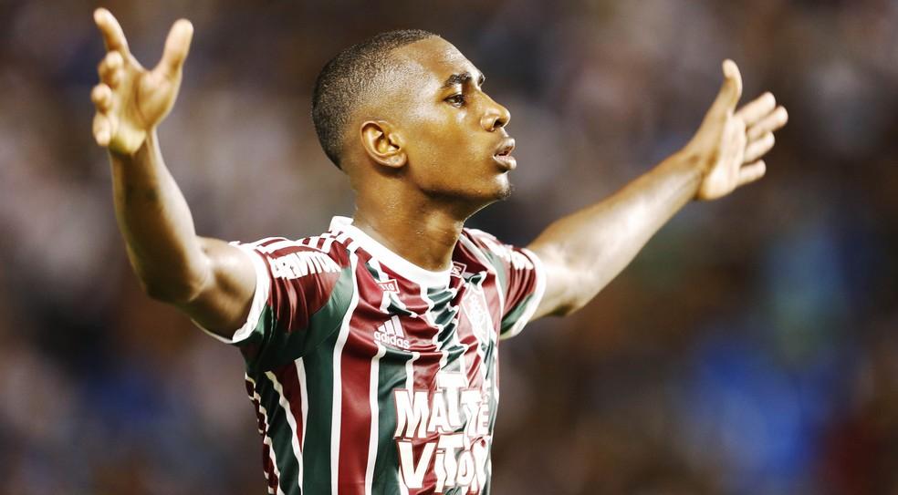 Gerson deixou o Fluminense em 2016 (Foto: Daniel Ramalho / Agência Estado)