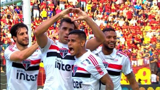 Sport e Diego Souza fazem reencontro cheio de emoção