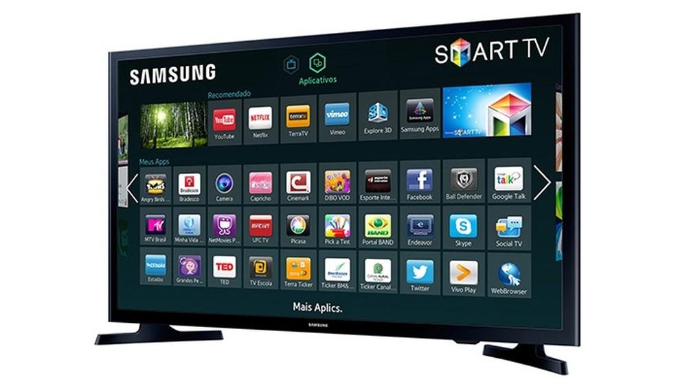 HD Flat Smart TV J4300 Series 4, de 32 polegadas (Foto: Divulgação/Samsung)