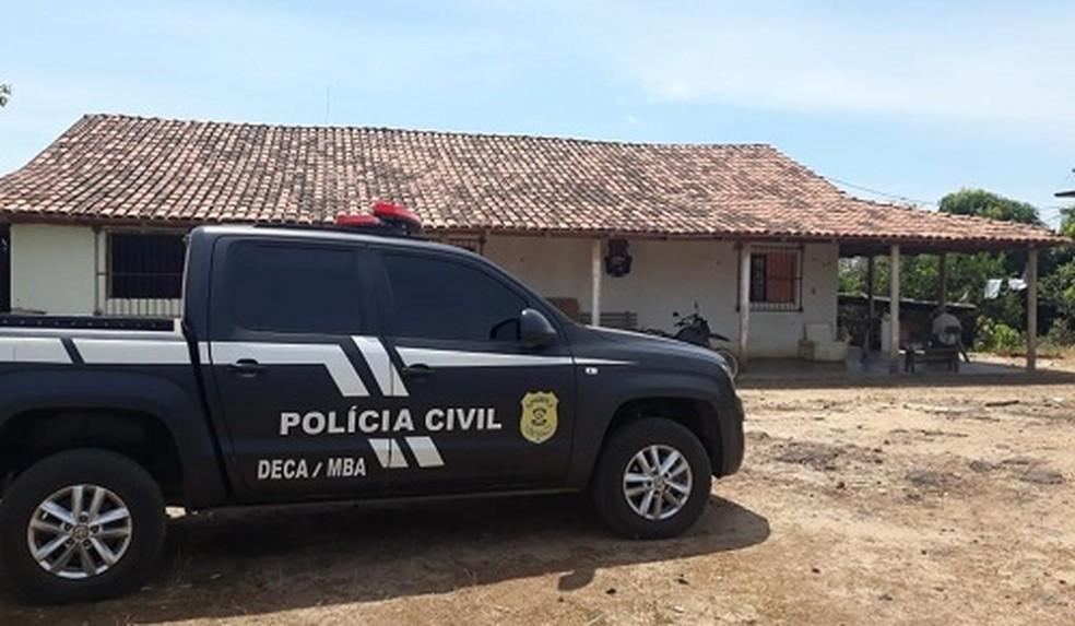 Polícia prende envolvidos em milícia armada em Marabá. — Foto: Reprodução / Polícia Civil