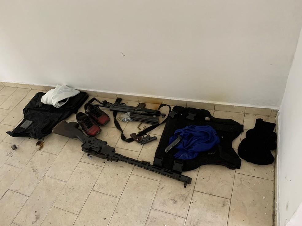 Operação da PF de combate a assaltos a carros-fortes tem 11 presos e 10 mandados de busca cumpridos — Foto: Divulgação/PF-BA