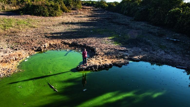 pantanal-christiane-rio-maneta (Foto: José Medeiros/Ed. Globo)