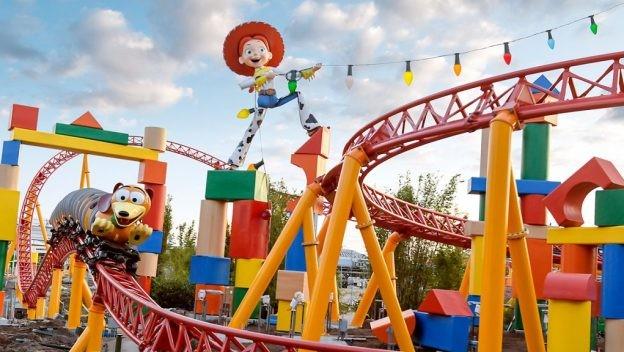 A Toy Story Land, na Disney (Foto: Divulgação)