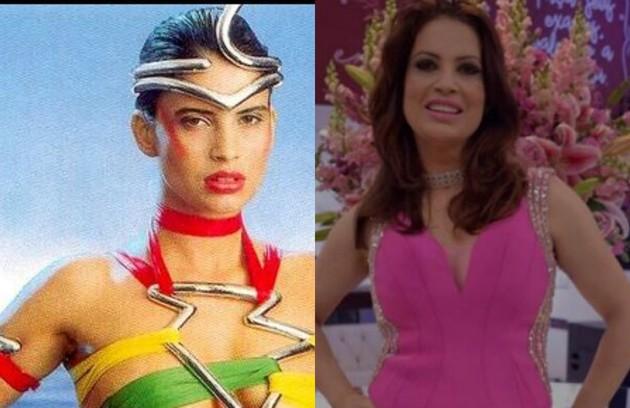 Isadora Ribeiro foi modelo na abertura do 'Fantástico' de 1987. Depois, atuou em novelas como 'Torre de Babel' e 'Fera ferida'. Ela está longe da TV desde 'Amor e revolução' (2011) (Foto: Reprodução)