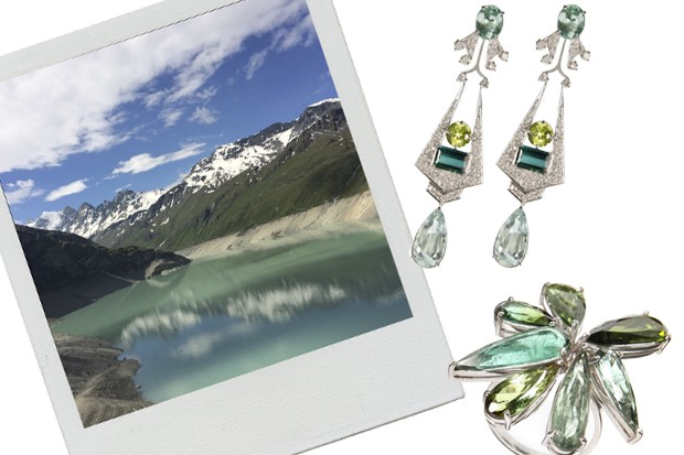 As joias inspiradas do verão suíço, da nova coleção de Mario Pantalena (Foto: Divulgação)