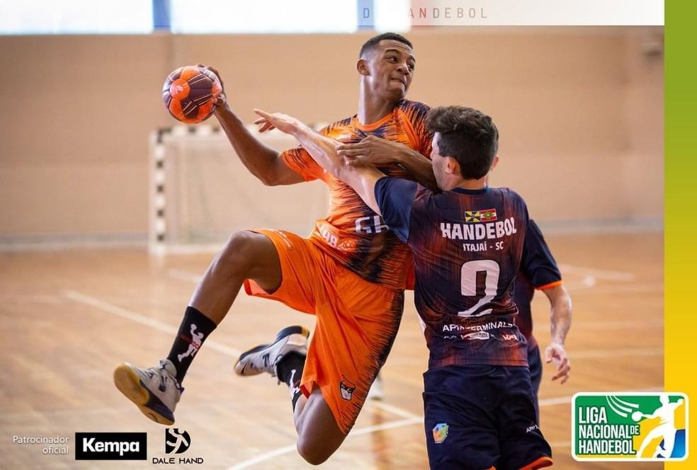 GHC perde para Itajaí e fica em 6º lugar na Liga Nacional — Foto: Bruno Ruas