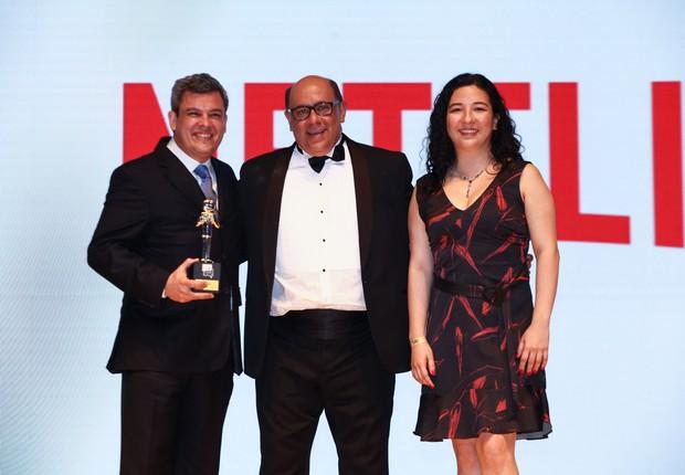 A supercampeã do prêmio Época NEGÓCIOS Reclame Aqui 2019 é a Netflix Brasil, representada por Antonio Augusto Barboza Pinto, customer experience manager (Foto: Alexandre de Paula)