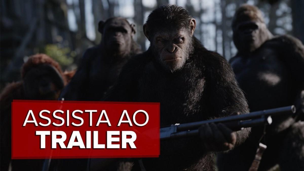 'Planeta dos macacos: A guerra' foca nos primatas e leva ...