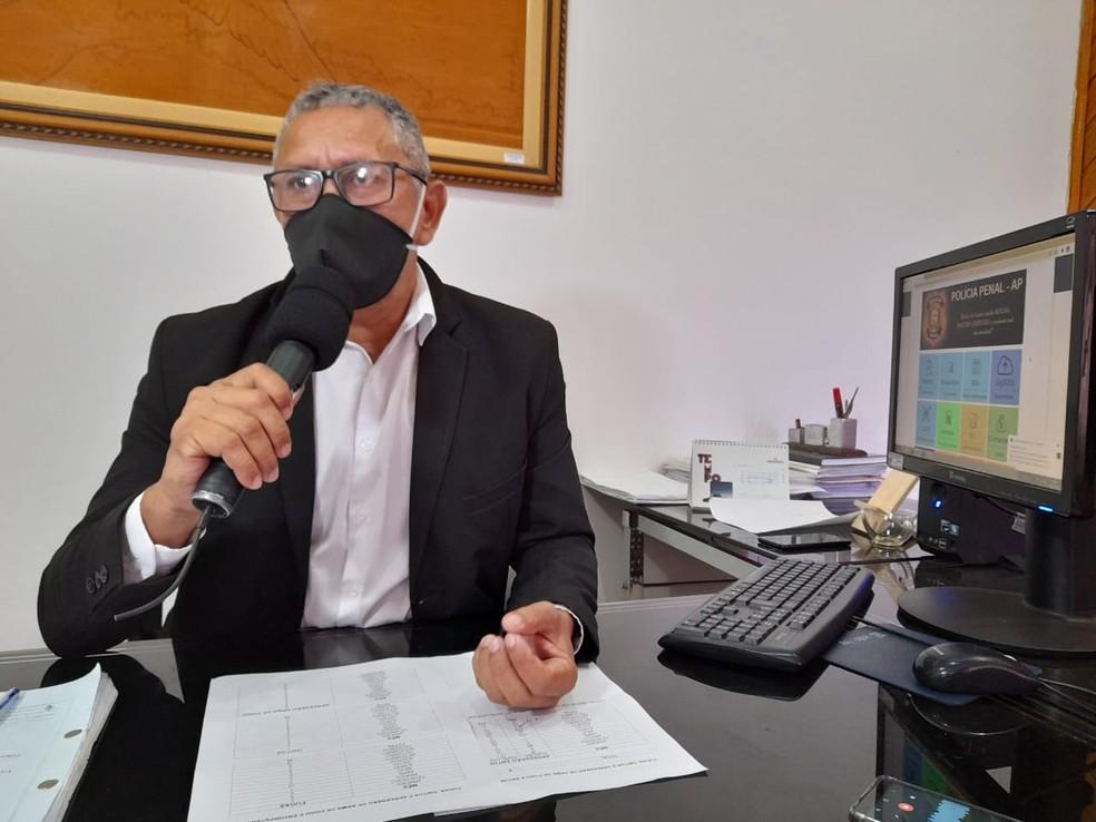 Lucivaldo Costa, diretor do Iapen — Foto: Victor Vidigal/G1