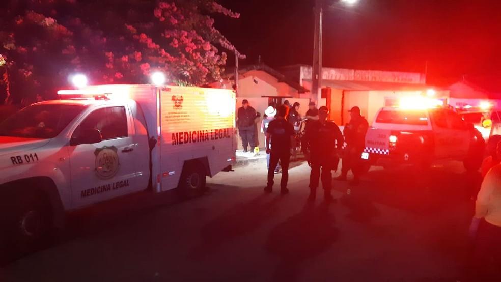 Pintor foi morto em São José de Mipibu — Foto: Sérgio Henrique Santos/Inter TV Cabugi