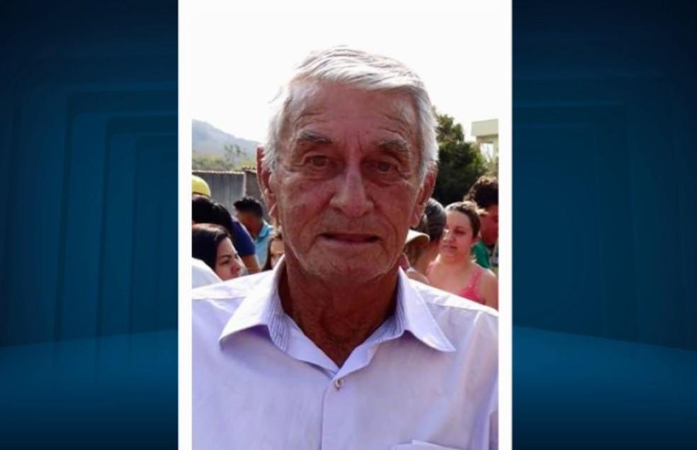 Prefeito de Aguanil, Sebastião Elói (PV), morre aos 73 anos (Foto: Reprodução EPTV)