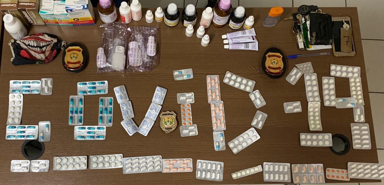 Em menos de 24h, pai e filho presos com receitas falsas de remédios para Covid-19 são soltos em audiência no AC