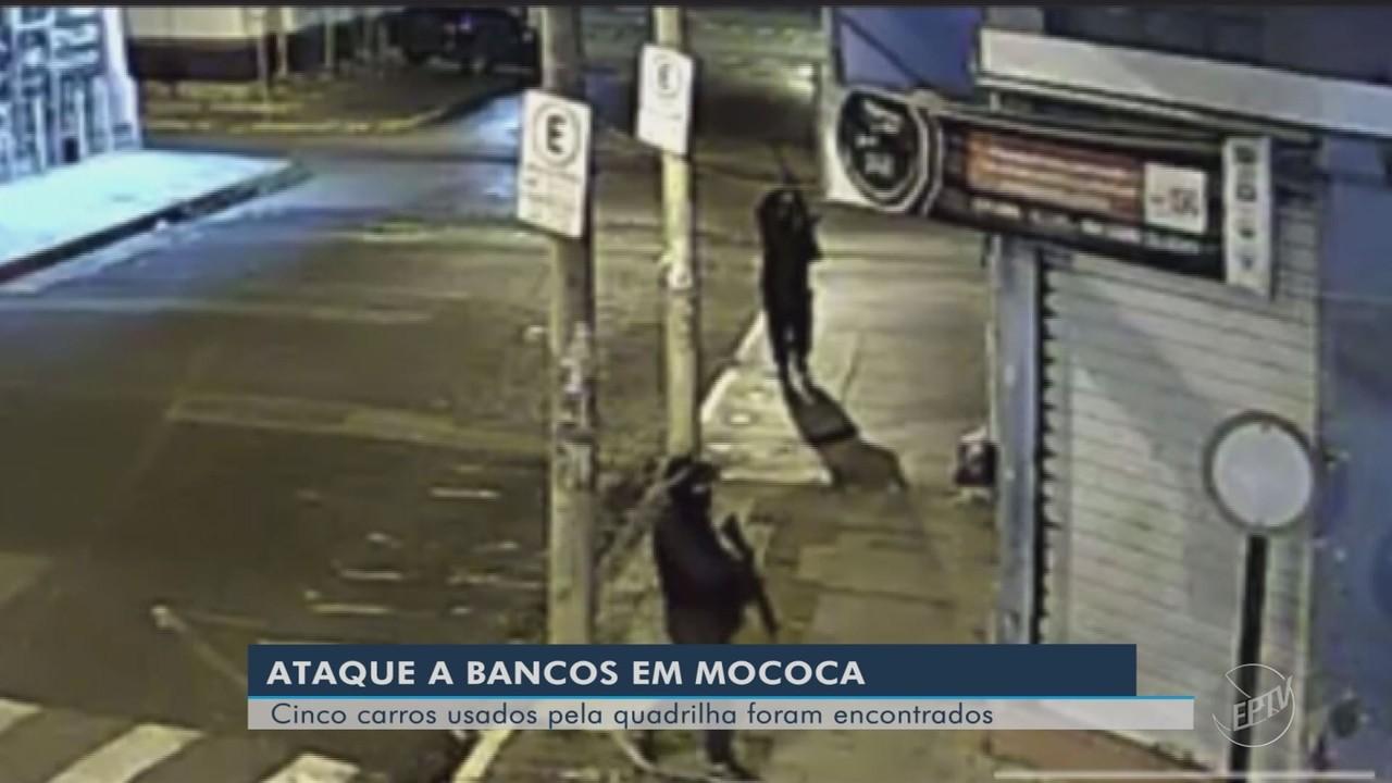 Carros usados em ataque a bancos em Mococa são encontrados; três em Guaranésia