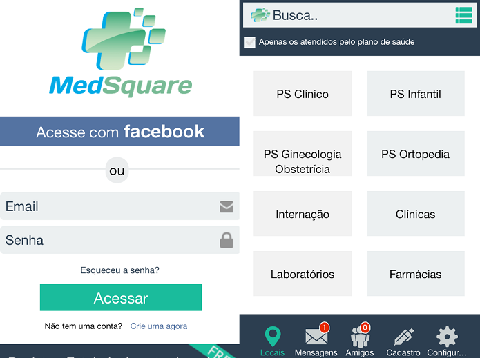 Foursquare da medicina tem muitas opções interessantes (Foto: Divulgação)