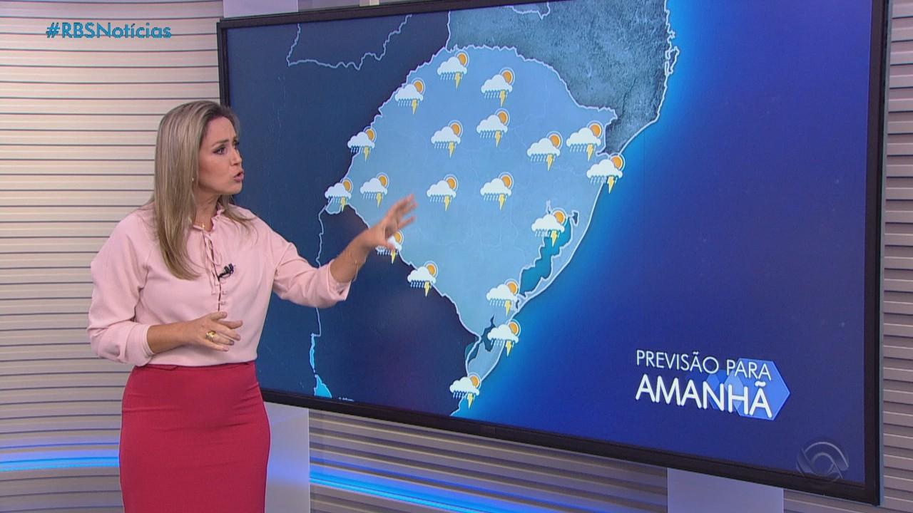 Terça-feira (26) será marcada por instabilidade no Rio Grande do Sul