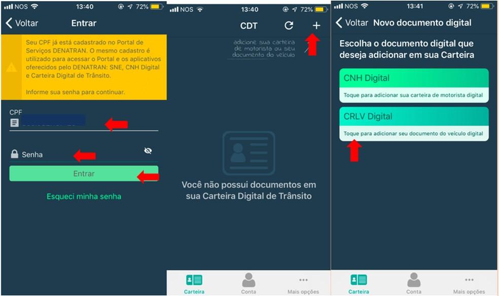 fota-5 #Dica: Você já conhece como funciona o CRLV Digital? Aprenda como baixar e usar o documento no app.