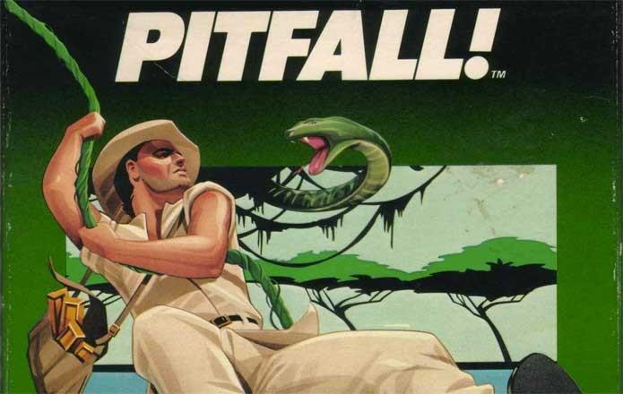 Pitfall foi um dos jogos mais vendidos do Atari (Foto: Reprodução/Game Archives)